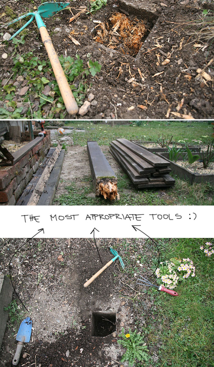 appropriate tools the fency fence